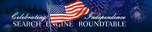 Search Engine Roundtable 4th Of July Logo 2009