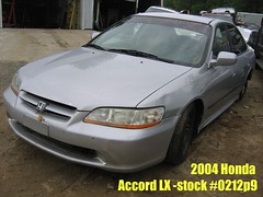 99 Honda Accord -stock #0212P9