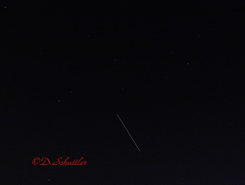 ISS Over Tulsa