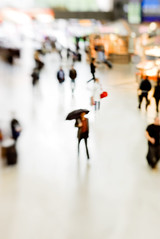 still raining (daitoZen) Tags: shadow urban blur rain lensbaby umbrella germany walking mnchen flow photography weird focus ghost blurred munchen melt passenger hendrix publictransport anonymous angst muenchen masses composer dissolve nofocus fokus masstransportation unschrfe withoutatrace dimly  namelessness focusisoverrated atributetojoergmaxzin passengeroflife gettyimagesgermanyq1 onsalegi flickropen