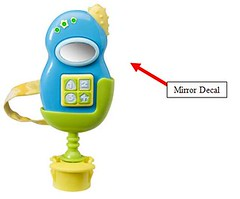 Recalled toy phone