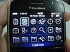 Blackberry Bold menu
