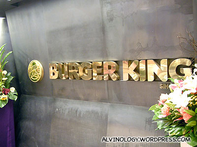 High-class Burger King: Burger King Studio