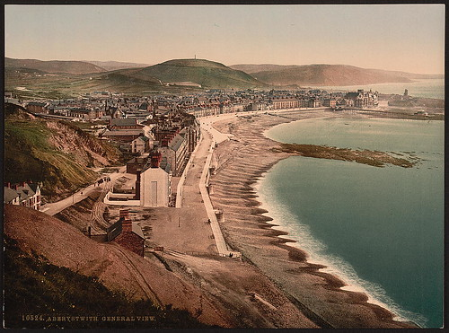 General view, Aberystwith, Wales by The Library of Congress from Flickr