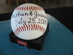 Baseball Groom Cake