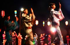 (avenue207) Tags: light festival japan canon eos japanese dance bokeh kimono penang obon odori bonodori  40d