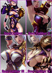 Ivy Enlarges (noeco31) Tags: sexy beautiful station play boobs ivy valentine size soul whip sword isabella playstation increase dominatrix chesty soulcalibur calibur isabellavalentine