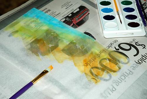 paint tissue