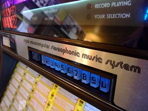 Fantastic old jukebox