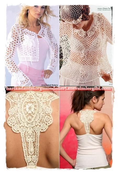 Harika Örgü Dantel Modelleri Yazlık Örgüler Modelleri Bayan Örgü Kıyafetler