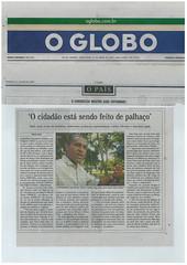 O GLOBO DE 2009 (Obama2) Tags: destaque nos jornais principais