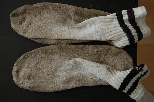The Farmer's Wife: Socks.....Clean or Dirty???