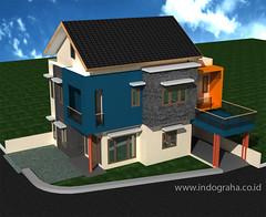 Desain Rumah-Minimalis-Sudut-4 by Indograha Arsitama Desain & Build