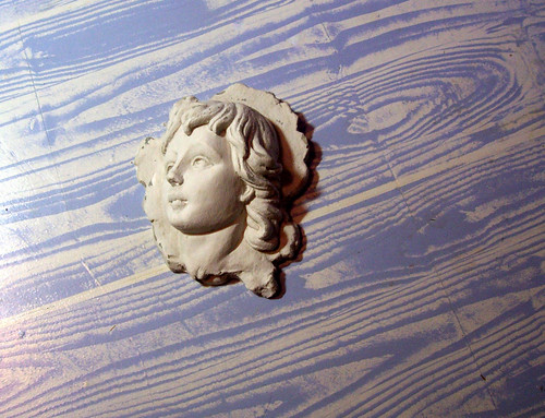 wood floor effect painted