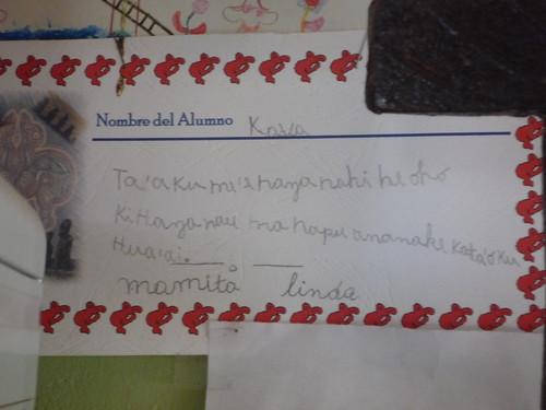 español + rapa nui