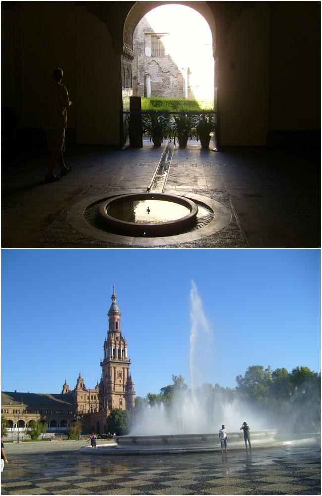 Sevilha Real e Plaza