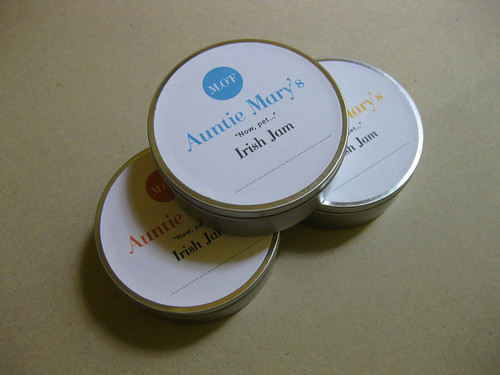 Aunt Mary's Monogram + Jam Labels