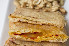 Vegan Abura Age Pizza Pockets