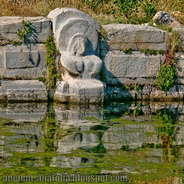 Cybele at Hittite Spring Temple & Dam Near Konya, Turkey