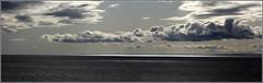 """Seascape"" (@houdi_) Tags: sea sky scotland portmahomack firth tain rockfield rossshire tamron70300 nikond40 imagecopyrightaldonnellyhoudi"