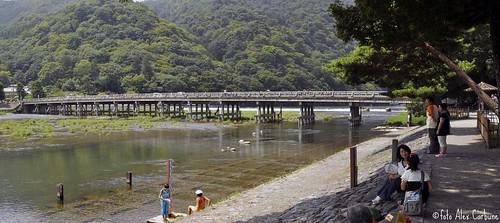 Kyoto  Togetsu-kyo ( beyond bridge)