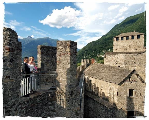 castle of Bellinzona wedding