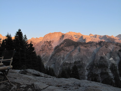 Sunset on the Great Western Divide