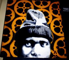 Entocado (artestenciva) Tags: stencil arte mdf artestencil