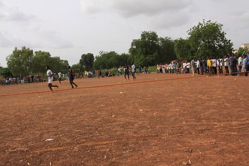 Soccer, the dry Ouagadougou way...