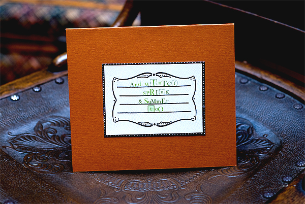 fall card article inside