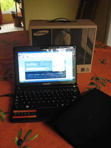My New Netbook - Samsung N110