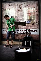Musico de 1ra Plana (yamilo2025) Tags: viaje españa tour zaragoza vacaciones espaa
