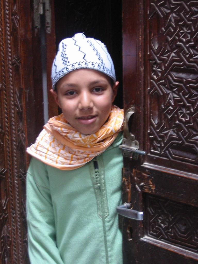 Un jeune apprenti Hamadcha