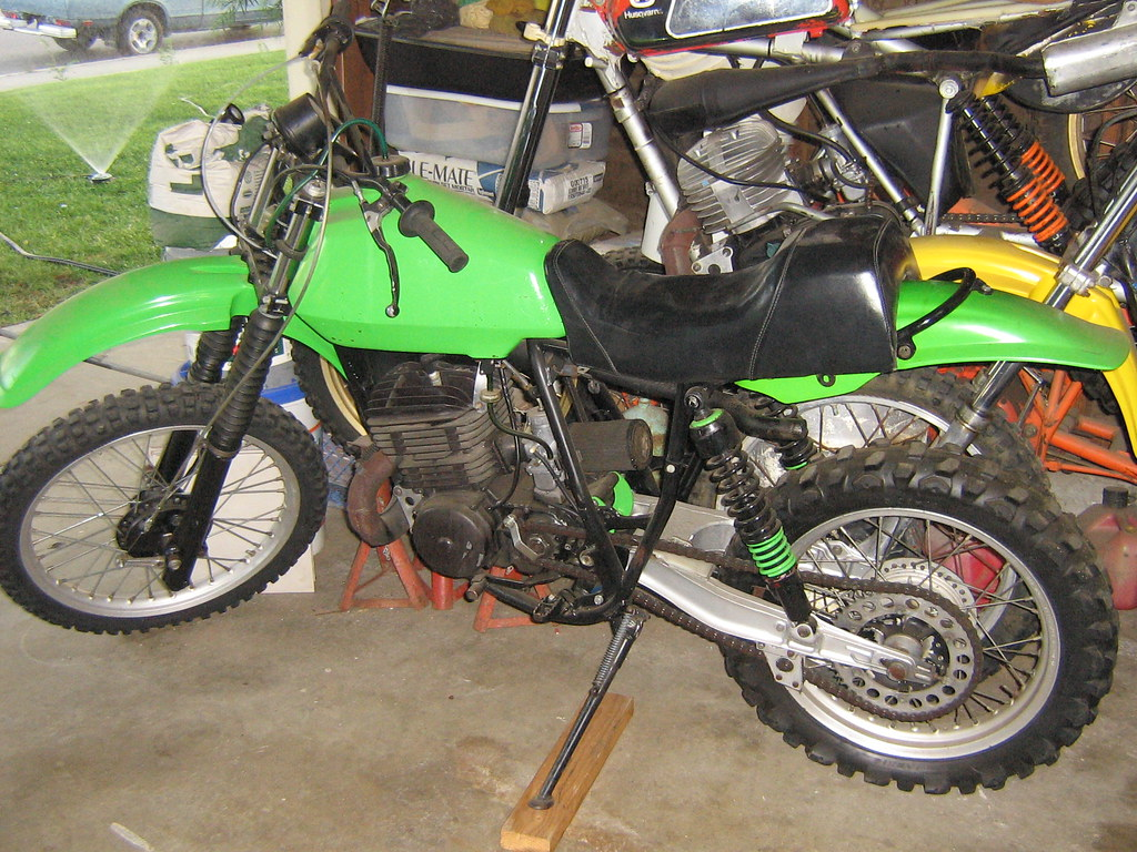 1979 Kawasaki KDX 400 with only 5000 miles