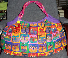 Laurel Burch Bag - Cats