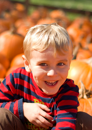 pumpkin four year old