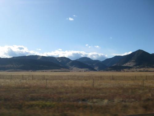 Hills along Hwy 93