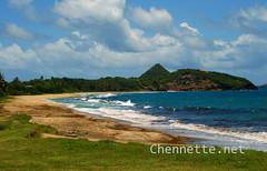 Grenada Coast and Waves