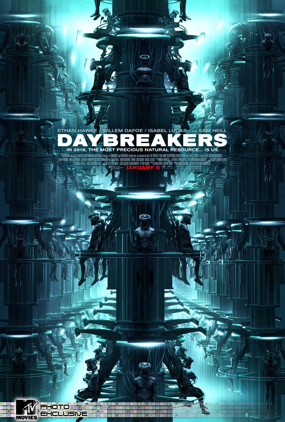 película Daybreakers poster