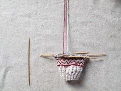 Work in progress (Maman Xuxudidi) Tags: tricot knitting jacquard retrosaria