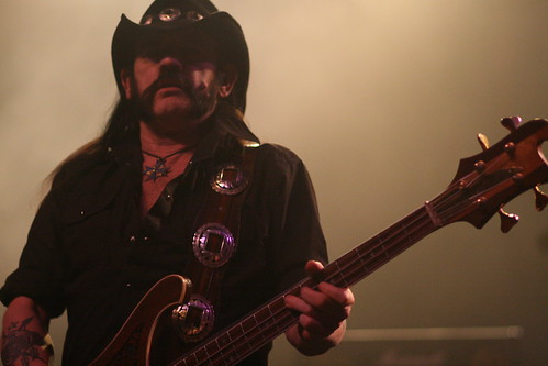 Lemmy Kilmister. the lead singer of legendary British band Motorhead, rocks the crowd at the Warfield Theater during their headlining US tour.Heather Spellacy/Foghorn Lemmy Kilmister. the lead singer of legendary British band Motorhead, rocks the crowd at the Warfield Theater during their headlining US tour.  Photo by Heather Spellacy/Foghorn