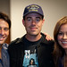 Richard Rosenblatt, Carson Daly, and Brooke Burke