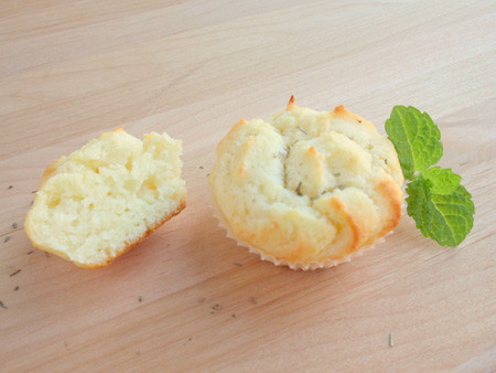 Goat cheese minicakes