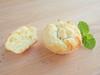 Petites magdalenes de formatge de cabra
