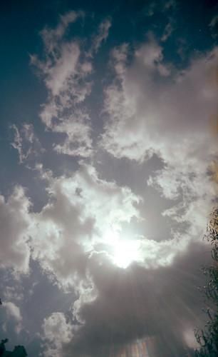 sky cloud flare