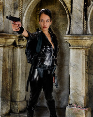 Lara raids the tombs (VictoriaCosplay) Tags: jones cosplay indiana victoria angelinajolie laracroft tombraider cosplaygirl wwwcosplaygirlwebscom