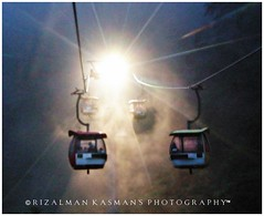 Genting Skyway ~ out-of-focus ( Rizalman Kasman Photography) Tags: travel vacation holiday malaysia cablecar 1001nights skyway gentinghighlands platinumheartaward