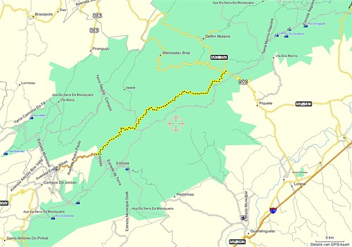 Campos do Jordão - enduro - GPS routemap