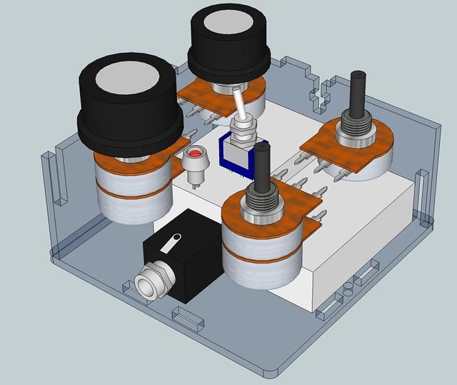 Rich Decibels Sinister Tone Generator 3d model