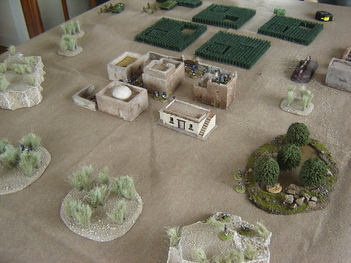 Soviets approach village